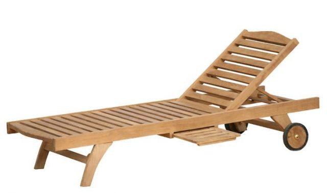 teak wood loungers