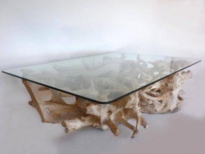 teak root table supplier