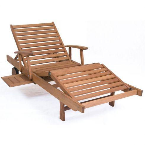 tumbona de madera de teca